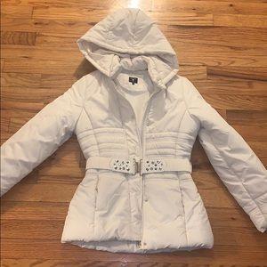 Girls Guess white Puffer coat size 12